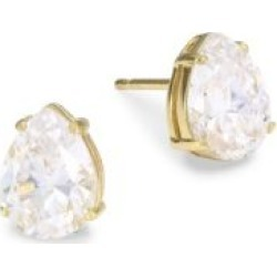 18K Goldplated Sterling Silver Pear Stud Earrings found on Bargain Bro India from Saks Fifth Avenue AU for $68.86