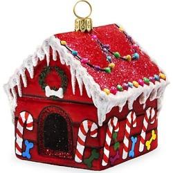 Joy To The World Diva Dogs Sweet Treats Dog House Ornament