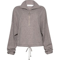 Jonathan Simkhai Women's Hana Loungewear Knit Half-Zip Pullover - Fawn - Size XS found on MODAPINS from Saks Fifth Avenue for USD $365.00