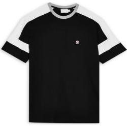 Black Cut and Sew T-Shirt