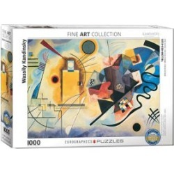 Fine Art Yellow, Red, Blue by Wassily Kandinsky 1000 Piece Jigsaw Puzzle found on Bargain Bro India from The Bay for $29.99