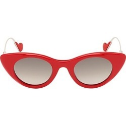 Moncler Women's 45MM Cat Eye Sunglasses - Red found on MODAPINS from Saks Fifth Avenue for USD $450.00