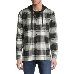 John Varvatos Star U.S.A. Men's Holger Easy-Fit Plaid Shirt Jacket - Black White - Size L found on MODAPINS from Saks Fifth Avenue OFF 5TH for USD $49.99