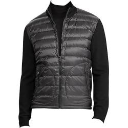 Ralph Lauren Purple Label Men's RLX Wool & Quilted Nylon Jacket - Black - Size Medium