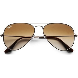 55MM Aviator Sunglasses