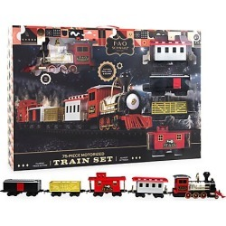 FAO Schwarz 75-Piece Motorized Train Set