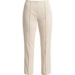 Agnona Women's Stretch Cotton Side Zip Pants - Stone - Size 42 (6) found on MODAPINS from Saks Fifth Avenue for USD $650.00