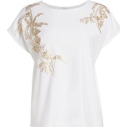 Sequin Embroidered T-Shirt found on MODAPINS from Saks Fifth Avenue Canada for USD $190.10