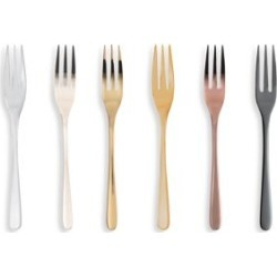Mix & Play 6-Piece Stainless Steel Cake Fork Set found on Bargain Bro India from Saks Fifth Avenue Canada for $82.06