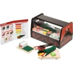 Roll Wrap and Slice Sushi Counter