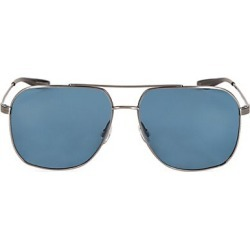 Barton Perreira Men's 60MM Aeronaut Navigator Sunglasses - Silver Blue found on MODAPINS from Saks Fifth Avenue for USD $400.00