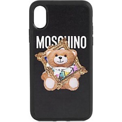 Moschino Art Bear iPhone 11 Pro Max Phone Case - Black Mult found on Bargain Bro Philippines from Saks Fifth Avenue for $59.50