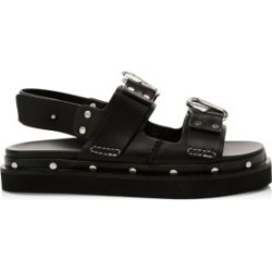 Alix Flatform Leather Slingback Sandals found on MODAPINS from Saks Fifth Avenue AU for USD $698.28