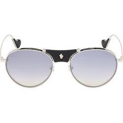 Moncler Men's 57MM Rounded Aviator Sunglasses - Gunmetal found on MODAPINS from Saks Fifth Avenue for USD $520.00
