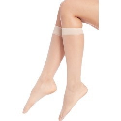 Donna Karan Women's Knee Highs Nylons - Tone A01 found on MODAPINS from Saks Fifth Avenue for USD $14.00