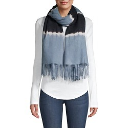 Charlotte Simone Women's Betty Tie-Dyed Wool Scarf - Dusty Blue found on MODAPINS from Saks Fifth Avenue for USD $76.00