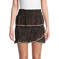Jully Tiered Ruffle Mini Skirt found on Bargain Bro India from Saks Fifth Avenue OFF 5TH for $99.99