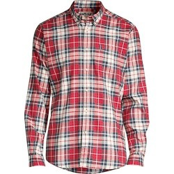 Barbour Men's Tailored-Fit Plaid Stretch Shirt - Red - Size XL found on MODAPINS from Saks Fifth Avenue for USD $62.47