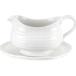 Gravy Boat And Stand 1Pt