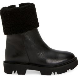 Aquatalia Women's Heidy Shearling-Lined Leather Boots - Black - Size 5.5 found on MODAPINS from Saks Fifth Avenue for USD $206.25