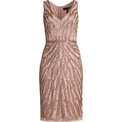 Aidan Mattox Women's Sequin Beaded Cocktail Dress - Ice Pink - Size 4 found on MODAPINS from Saks Fifth Avenue for USD $440.00
