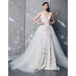 Vineyard Lace Fluted Gown found on Bargain Bro Philippines from La Baie for $6510.00