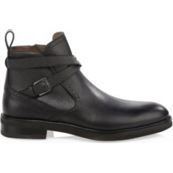 Leather Crisscross Ankle Boots found on MODAPINS from Saks Fifth Avenue UK for USD $1029.40