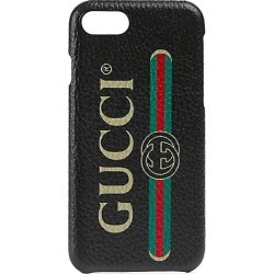 Gucci Men's Gucci Print iPhone 8 Case - Black found on Bargain Bro India from Saks Fifth Avenue for $320.00