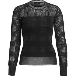Charlotte Buffalo Check Crewneck Sweater