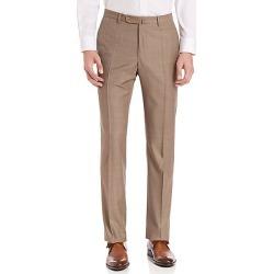 Incotex Men's Benson Sharkskin Dress Pants - Light Beige - Size 44 found on Bargain Bro India from Saks Fifth Avenue for $440.00