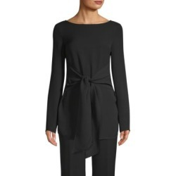 Silk Long-Sleeve Tie Top found on Bargain Bro India from Saks Fifth Avenue Canada for $727.32