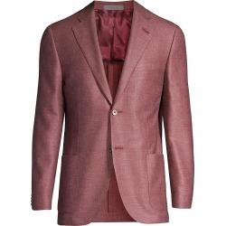 Corneliani Men's Gate Tailored Blazer - Dark Red - Size 48 (38) R found on MODAPINS from Saks Fifth Avenue for USD $875.00