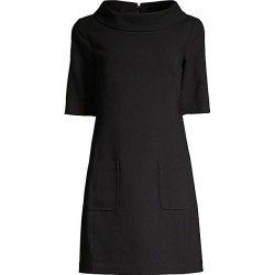 Trina Turk Women's Maleko Shift Dress - Black - Size 6 found on Bargain Bro India from Saks Fifth Avenue for $298.00