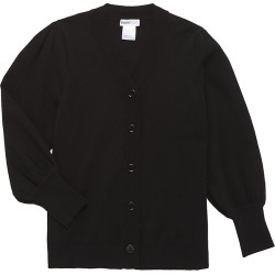 Minnie Rose Little Girl's & Girl's Puff-Sleeve Cardigan - Black - Size 12 found on Bargain Bro India from Saks Fifth Avenue for $98.00