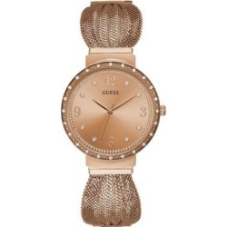 Chiffon Rose Goldtone Mesh Bracelet Watch found on Bargain Bro India from La Baie for $145.99