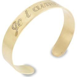 Ileana Makri Women's Classic 18K Yellow Gold & Diamond Je t'Aime Cuff - Yellow Gold found on Bargain Bro Philippines from Saks Fifth Avenue for $8455.00