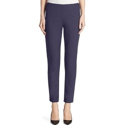 Lela Rose Women's Catherine Stretch-Twill Pants - Navy - Size 4 found on MODAPINS from Saks Fifth Avenue for USD $695.00