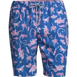 Peter Millar Men's Iguanas Swim Trunks - Deep Ocean - Size Medium found on Bargain Bro from Saks Fifth Avenue for USD $74.48