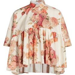 Giambattista Valli Women's Shirt - Beige Rose - Size 6 found on MODAPINS from Saks Fifth Avenue for USD $1360.00