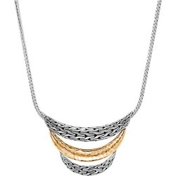John Hardy Women's Chain Bonded 18K Yellow Gold & Sterling Silver Bib Necklace found on MODAPINS from Saks Fifth Avenue for USD $995.00