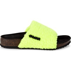Pajar Women's Beal Faux Shearling Slides - Lime - Size 38 (8) Sandals found on MODAPINS from Saks Fifth Avenue OFF 5TH for USD $49.99