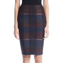 The Keira Coated Pencil Skirt