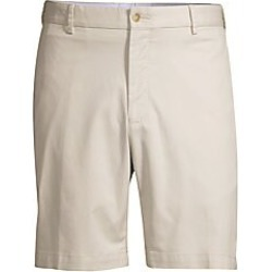 Peter Millar Men's Cotton Twill Shorts - Stone - Size 38 found on Bargain Bro Philippines from Saks Fifth Avenue for $98.00