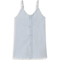 DL1961 Premium Denim Girl's Eilis Stripe Dress - White Blue - Size 8 found on Bargain Bro India from Saks Fifth Avenue for $59.00