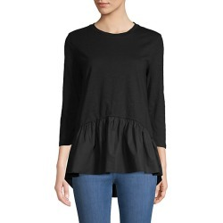 High-Low Cotton Top