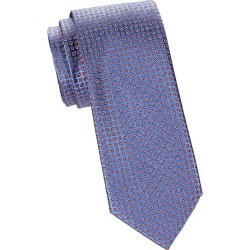 Brioni Men's Geometric Jacquard Silk Tie - Blue found on MODAPINS from Saks Fifth Avenue for USD $240.00