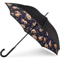 Midnight Bloom Folding Umbrella