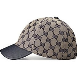 Gucci Kid's Original GG Canvas Cap - Beige Blue - Size XS (7) found on MODAPINS from Saks Fifth Avenue for USD $210.00