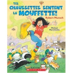 Smelly Socks Book - French Version