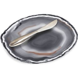 Agate Plate & Spreader found on Bargain Bro Philippines from Saks Fifth Avenue Canada for $100.22
